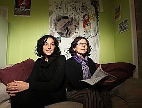 Charlotte et Marie-Christine font partie de la trentaine d'adhérents que compte déjà le LAG.
