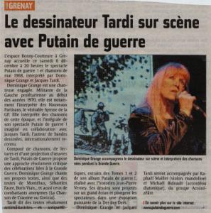 Avenir de l'Artois - 4 décembre 2014