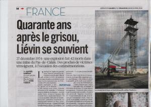 Libération - 27 décembre 2014