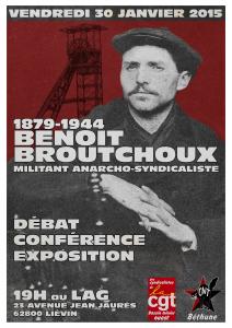 30 janvier 2015 - soirée Benoît Broutchoux